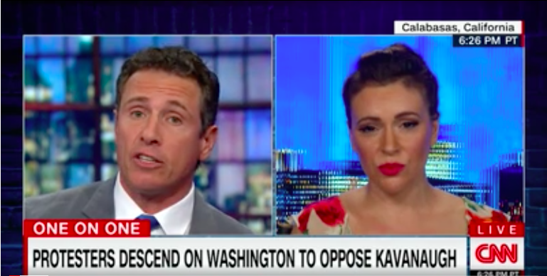 Alyssa Milano: I could feel Kavanaugh's rage