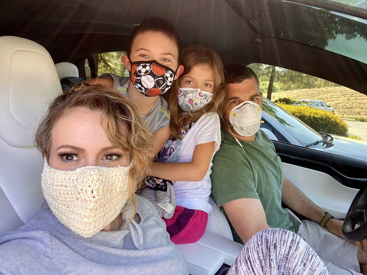 Actress and activist Alyssa Milano has been finding life in quarantine challenging, particularly when it comes to articulating what is going on to her children.